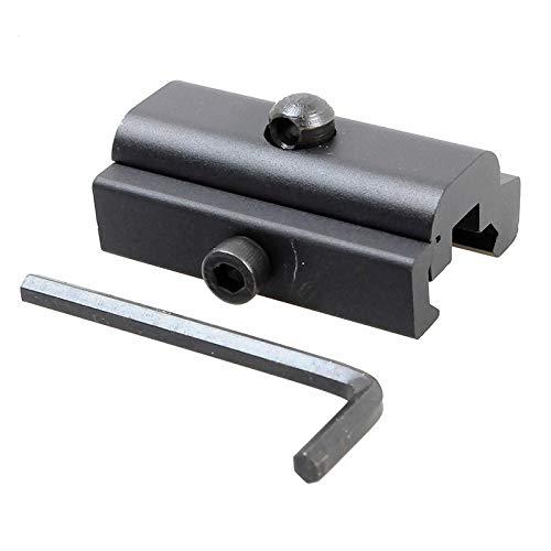 WQ-HUNTING, Adaptador de trípode de Metal Adaptador Giratorio de Eslinga de 20 mm Desmontaje rápido Rifle Bípode Soporte Giratorio Caza Weaver Harris Montaje en riel Adopter