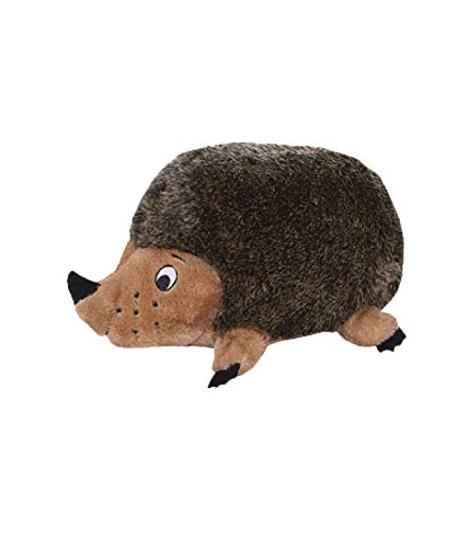 Outward Hound Hedgehogz Squeaky Dog Toy – Interactive Cuddly Soft Toy for Dogs - Tough & Durable Plush Fluffy Toy for Awesome Pets, Small