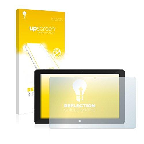 upscreen Entspiegelungs-Schutzfolie kompatibel mit TrekStor SurfTab Duo W3 – Anti-Reflex Bildschirmschutz-Folie Matt