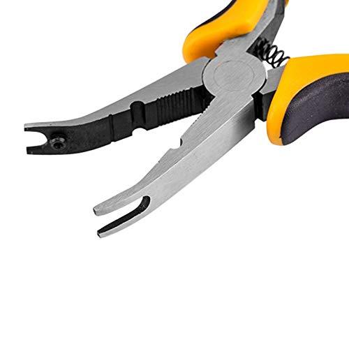 WY-YAN Cabeza del metal herramienta de actualización de acoplamiento de la bola Alicates for RC helicóptero de color amarillo Avión de coches (Color : Siliver)