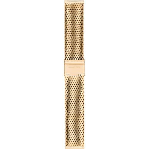 Michael Kors MKT9074 horlogeband voor dames, roestvrij staal