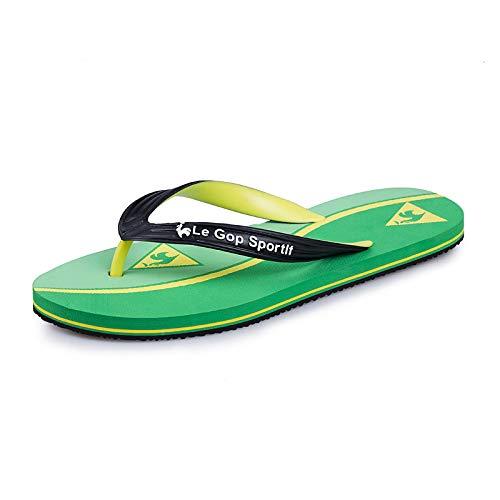 GYCZC 2020 Summer Camouflage Fashion Flip Flops Wild Casual Non-Slip Beach Slippers 39-45