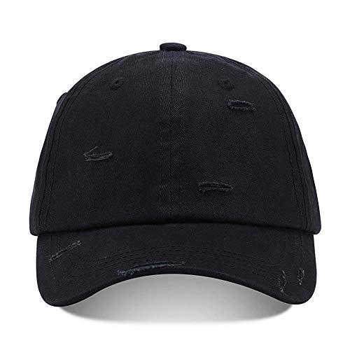 Lili La primavera y el otoño sombreros de los hombres y el color sólido agujero de lavado tapa de todos los partidos estudiante coreano protector solar sombrero