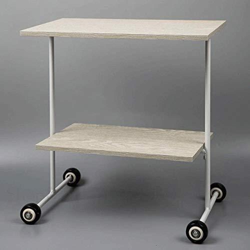 ABD Mesa de cama con ruedas Sofá de esquina de varias mesas de café pequeñas y modernas minimalistas pequeñas y cuadradas (color: Ml2)