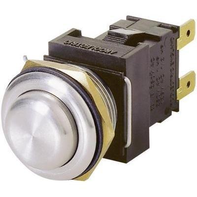 ARCOLECTRIC H8351RPAAA Vandalismusgeschützter Drucktaster 250 V/AC 16 A 2 x Aus/(EIN) IP66 tastend 1 St.