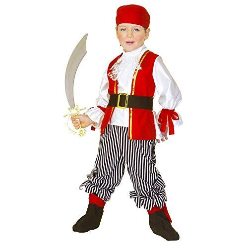 WIDMANN - Disfraz infantil de Piratas, multicolor, 43815