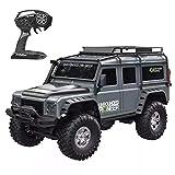 deguojilvxingshe Coche teledirigido HB 1:10 con luz LED, 15 km/h, coche de escalada teledirigido 2.4G 4WD RC, juguete eléctrico todoterreno para adultos y niños