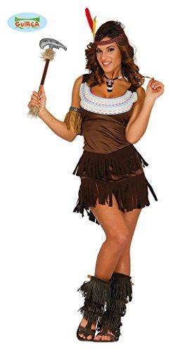 Indiaans kostuum apache voor vrouw