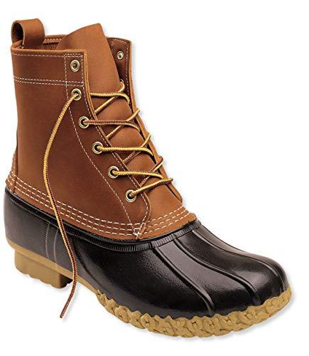 L.L.Bean(エルエルビーン) メンズ ブーツ フルグレイン・レザー ビーン・ブーツ タン/ブラウン 快適フィット 本革(8インチ Wide EE 7)0GP4806070