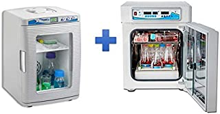 Bundle: Choose your Free Item with Benchmark H3501 Incu-Shaker Mini CO2 with non slip rubber mat, 115V Plus FREE H2200-HC MyTemp Mini Digital Incubator, Heat and Cool only