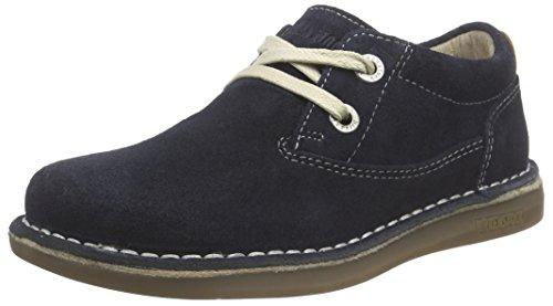 Birkenstock Shoes BIRKENSTOCK Shoes Unisex-Kinder Memphis Derby, Blau (Dark Blue), 28