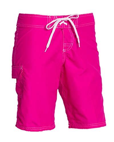 Kanu Surf Women's Marina Board Shorts, Pink, 14