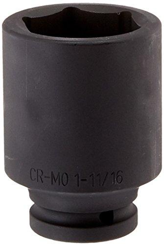 Sunex 454D 3/4-Inch Drive Deep 6 Point Impact Socket 1-11/16-Inch