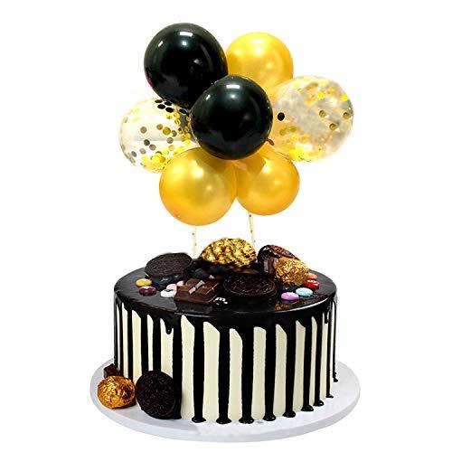 Xnuoyo Adorno De Torta De Globo DecoracióN De Pastel De CumpleañOs Cake Topper Globos Para CumpleañOs De NiñOs Y NiñAs, Bodas, Fiestas TemáTicas