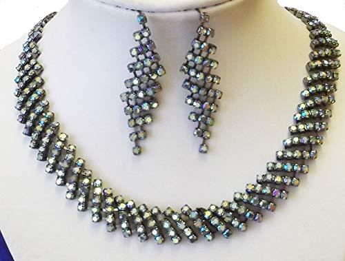 Amerald - Collar con pendientes