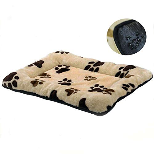 HUALAN Pet Crate Mattress Dog/Cat Cage Mat Cusion Washable Kennel Pads