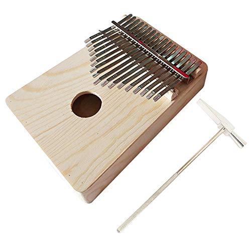 Daumenklavier Kalimba 17 Tasten Pop Klassik Musik Show DIY Musikinstrument mit Stimmhammer Kindermusik Aufklärung Geschenk