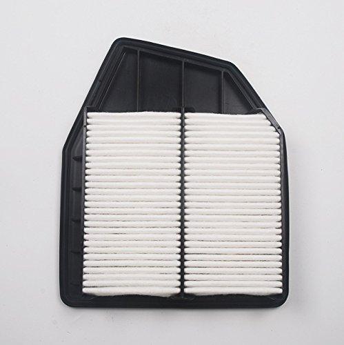 Beehive Filter Aftermarket Remplacer Le Moteur de Panneau Rigide de Garde supplémentaire Filtre à air Replace # 17220-R40-A00 (CA10467) pour Honda Accord 2008-2012, Crosstour 2012-2015 Nouveau