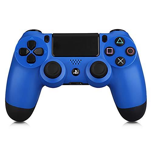 ZUEN Bluetooth Wireless-Joystick Für PS4 Gamepads Controller-Fit-Konsole Für Playstation4 Gamepad Dualshock 4 Gamepad Für PS3,Blau