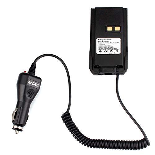 Ailunce HD1/RT29 Auto Batterie Eliminator 12V-24V Auto Ladegerät Kompatibel mit Ailunce HD1 Walkie Talkie DMR Funkgerät(1 STK, Schwarz)