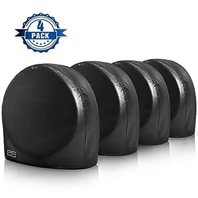 Amazon - Save 40%: ELUTO Tire Covers for RV Wheel Covers Set of 4 Waterproof UV Sun Toug…