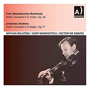 Nathan Milstein with Markevitch and Sabata in Concert