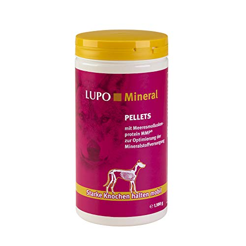 Luposan Lupo Mineral für Hunde Knochenmehl (1100 g)