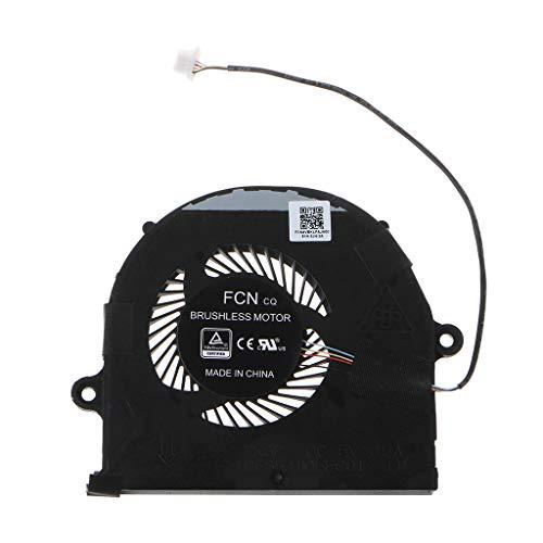GREEN&RARE Repuesto de ventilador de refrigeración de CPU, enfriador para A-SUS ROG Strix FX63 FX63VM FZ63VM FX63V FZ63VD FX63VD Accesorios para portátiles