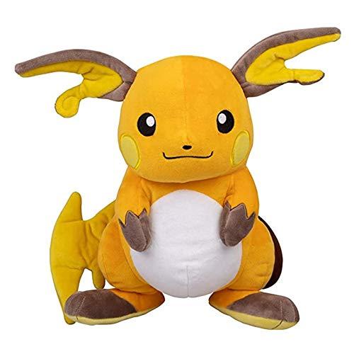 Ltong Juegos de Anime Pokemon Pikachu Serie 30CM Raichu Juguete de Felpa Swire Armor Peluches Un Regalo de cumpleaños para niños
