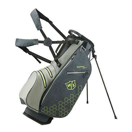 Wilson Staff Sac de golf, Dry Tech II Stand Bag, Gris,...