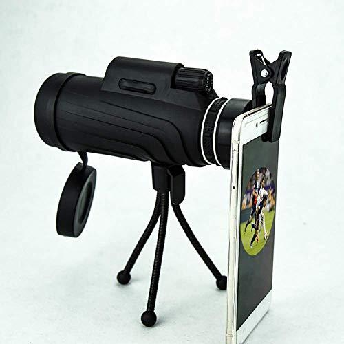 Telescopio Binoculares 4060 Monoculares/Alta definición Visualización al Aire Libre Luz Baja Teléfono móvil Foto Mirada Telescopio Monocular