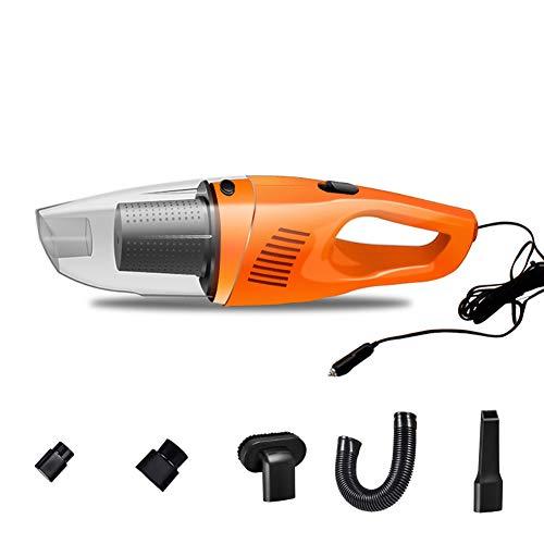 BSJZ Aspirateur de Voiture sans Fil, aspirateur de Voiture de Multiples Accessoires DC12 Volt Humide et Sec Portable aspirateur Automatique de Poche pour Voiture