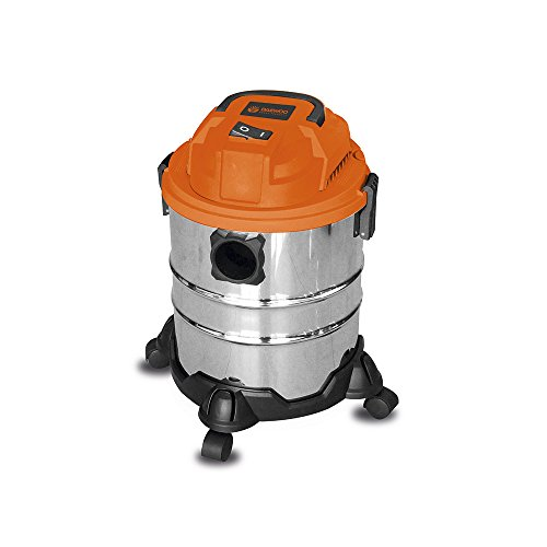 Daewoo Power Products DAVC9020L stof- en waterstofzuiger, 20 l, 1200 W, 86 decibel, grijs