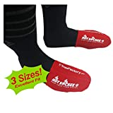 Hot Sockee - Neoprene Toe Warmers - Worn Inside Shoes or Boots - 3 Sizes - Cycling, Hiking, Winter...