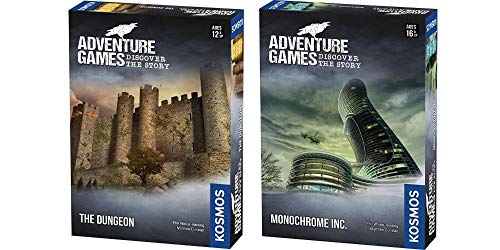 Thames & Kosmos Adventure Games 2 Game Bundle: The Dungeon and Monochrome, Inc. [並行輸入品]