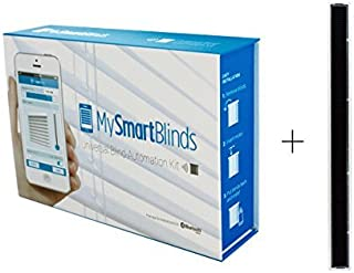MySmartBlinds Automation Kit Bundle + Solar Panel (2...