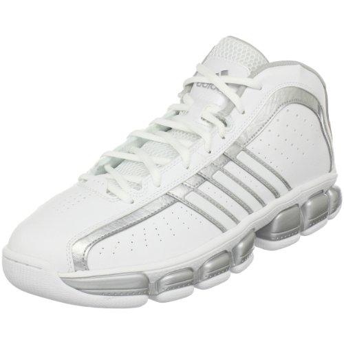 adidasFloater Glide - Floater Zapatillas Hombre, Blanco (Blanco/Plateado metálico (Running White/Metallic Silver/Running White)), 45 EU
