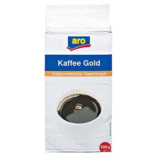 Aro Kaffee Gold gemahlen, 500g 1er Pack
