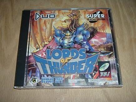 Amazon.com: Lords of Thunder (Turbo Duo / TurboGrafx SCD ...