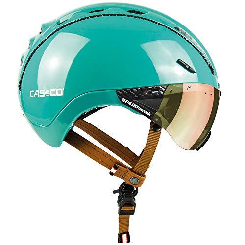 Casco Roadster Plus Casque de vélo Jade Brillant, L 58-60cm