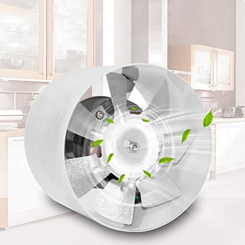 lamta1k 4 Zoll Ventilator Badezimmer K¨¹che Haushalt Mute Bel¨¹ftung L¨¹fter Extractor White