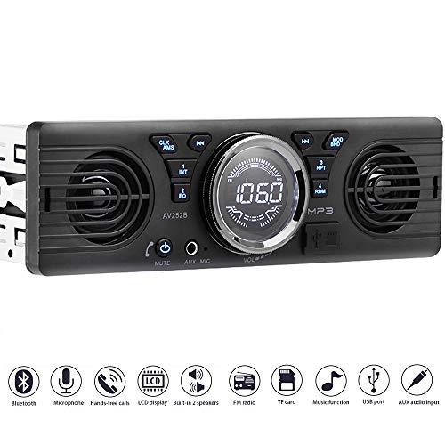 PolarLander Universal 1 DIN 12 V Autoradio Audio Player Eingebaute 2 Lautsprecher Stereo FM Unterstützung Bluetooth mit USB / TF Card Port