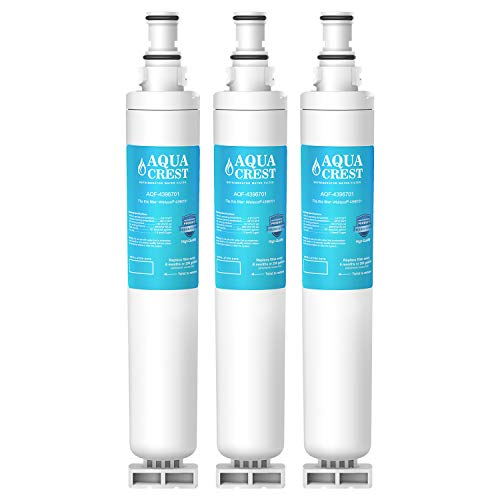 AQUA CREST 4396701 Replacement for Kenmore 9915, 469915, Whirlpool EDR6D1, WF293, RWF2000A, LC200V, SGF-W10, L200V, RWF1021, Filter 6, WFL200, 4396702, 3 PACK