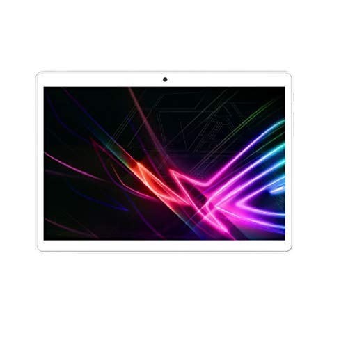 10.1Inch 1280x800 HD IPS Android Tablet PC 2G RAM 32G ROM ibowin Android 10.0OS Quad-core Processor WiFi Bluetooth Cameras Playstore - Silver