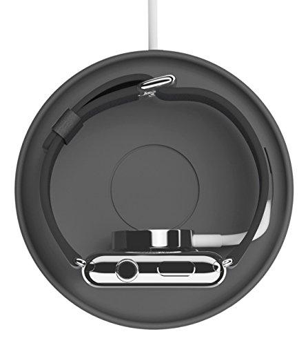 Bluelounge KADGR - Kosta, soporte cargador Applewatch, color gris