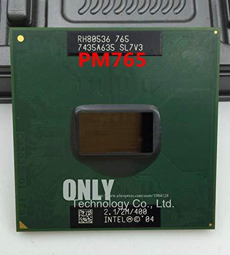 PM765 for CPU Notebook Pentium M Processor 2.1GHz/2M PM 765 CPU PGA Support 855 Motherboard Chip