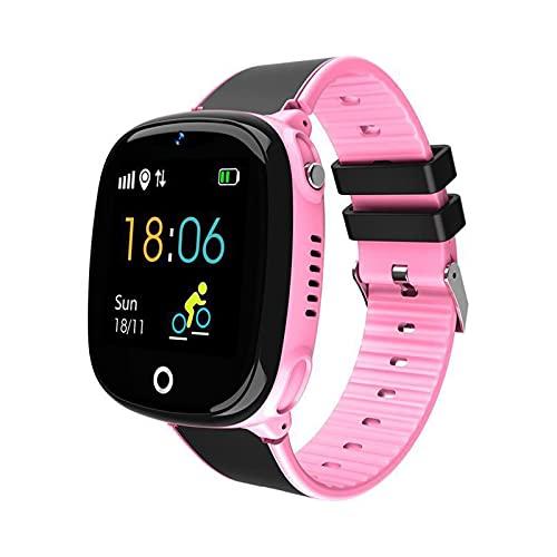 ZBY HW11 Smart Watch Niños GPS Pedómetro Posicionamiento IP67 Niños A Prueba De Agua Teléfono 2021 Muñeca Inteligente,C
