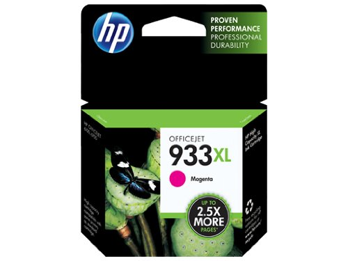 HP 933X L Magenta Druckerpatrone–Tintenpatrone (magenta, Officejet 6100ePrinter–H611a Officejet 6600e-All-in-One Printer–H711a/H711G Officejet 6700.)