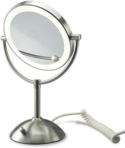 Hochwertiger LUXUS LED Spiegel-Beleuchtet Kosmetikspiegel -Badspiegel-Tischspiegel Nomal+10Fach ZOOM-NEU 2015-Exclusive Edition