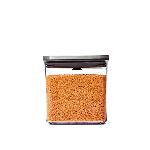 OXO Steel POP Container - 2.8 Qt for cereal, grains and more